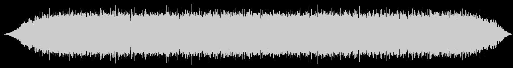 少年漫画によくあるオーラ表現の効果音2の未再生の波形
