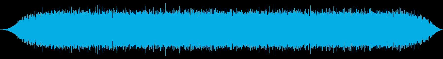 少年漫画によくあるオーラ表現の効果音2の再生済みの波形