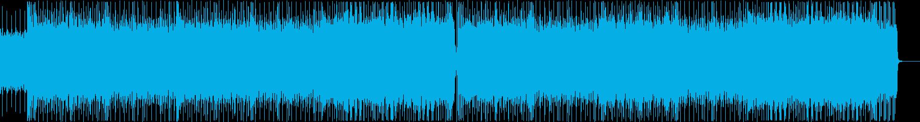 爆走ロック・メタル系BGM No.2の再生済みの波形