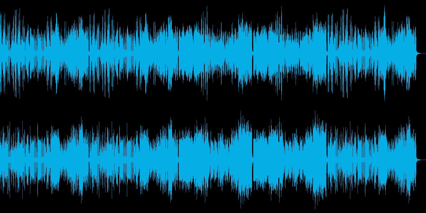 ピアノとフルート室内楽風ほのぼのポップスの再生済みの波形
