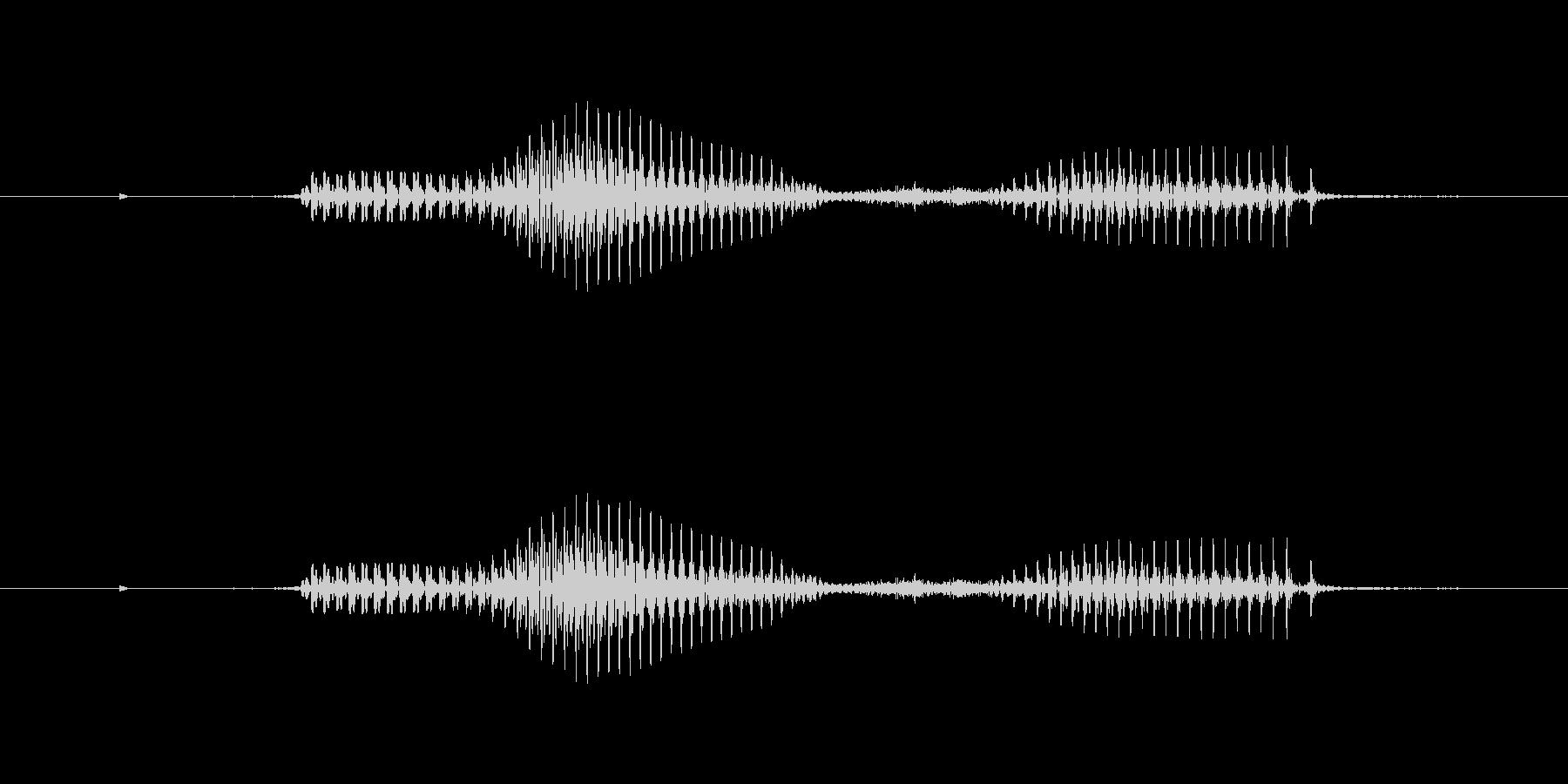 【星座】魚座の未再生の波形