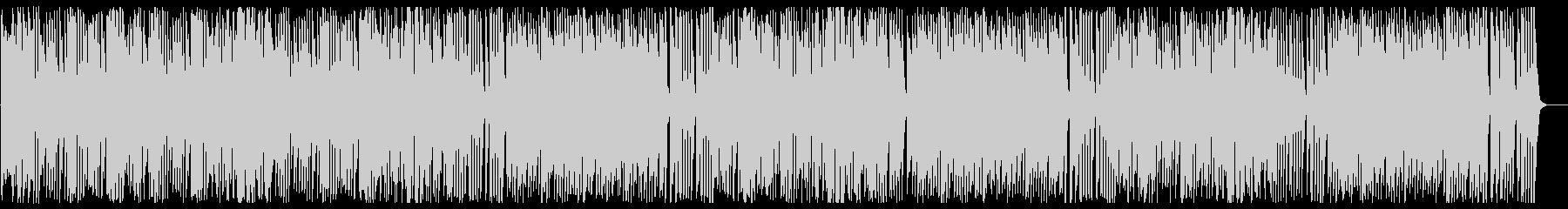 ほのぼのする可愛らしいBGMの未再生の波形