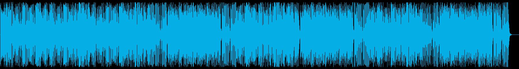 ほのぼのする可愛らしいBGMの再生済みの波形