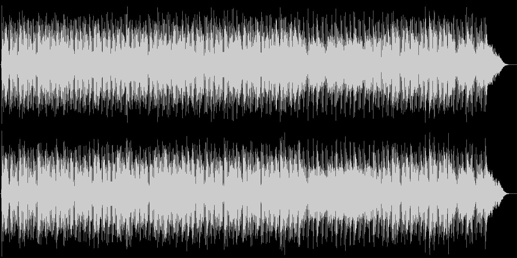 ゆるやかで優しいピアノバラードの未再生の波形