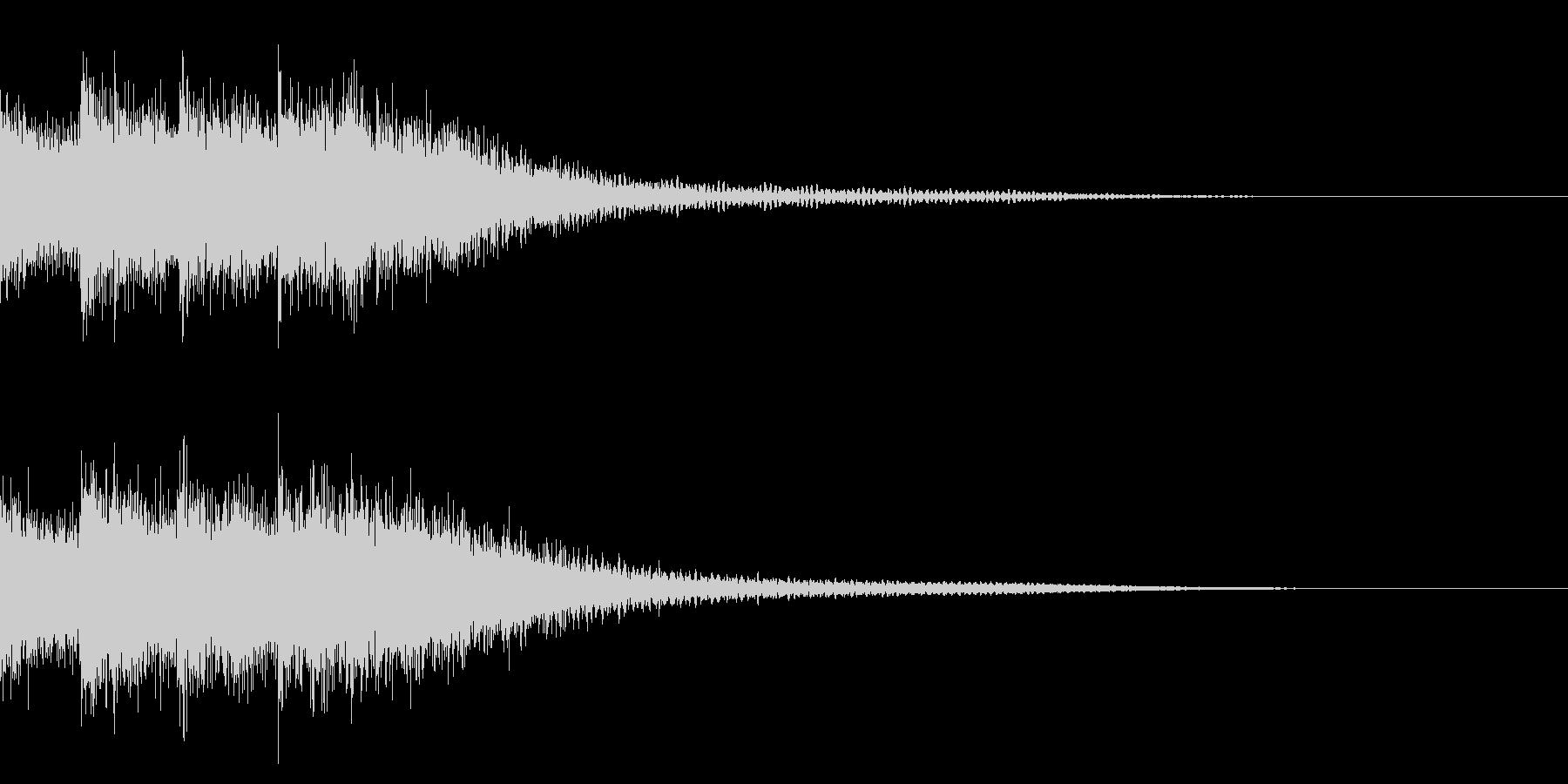 クイズ/出題/オケヒの未再生の波形