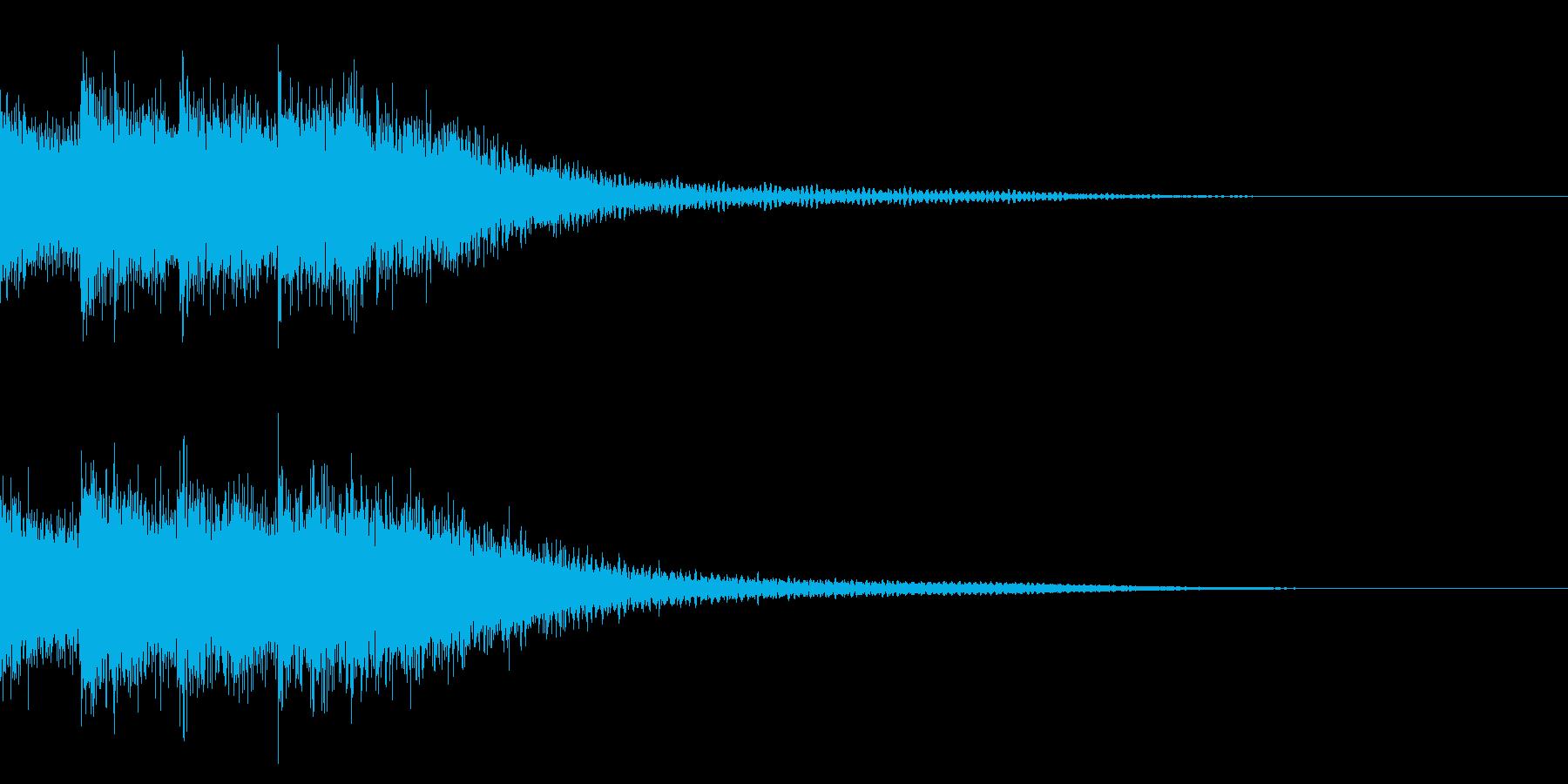クイズ/出題/オケヒの再生済みの波形