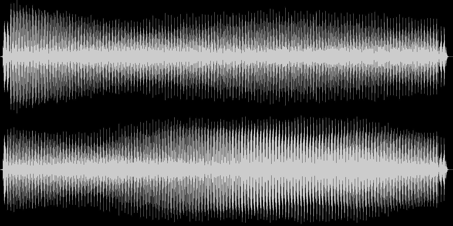 ビュォー。クイズ不正解・ブザー音の未再生の波形