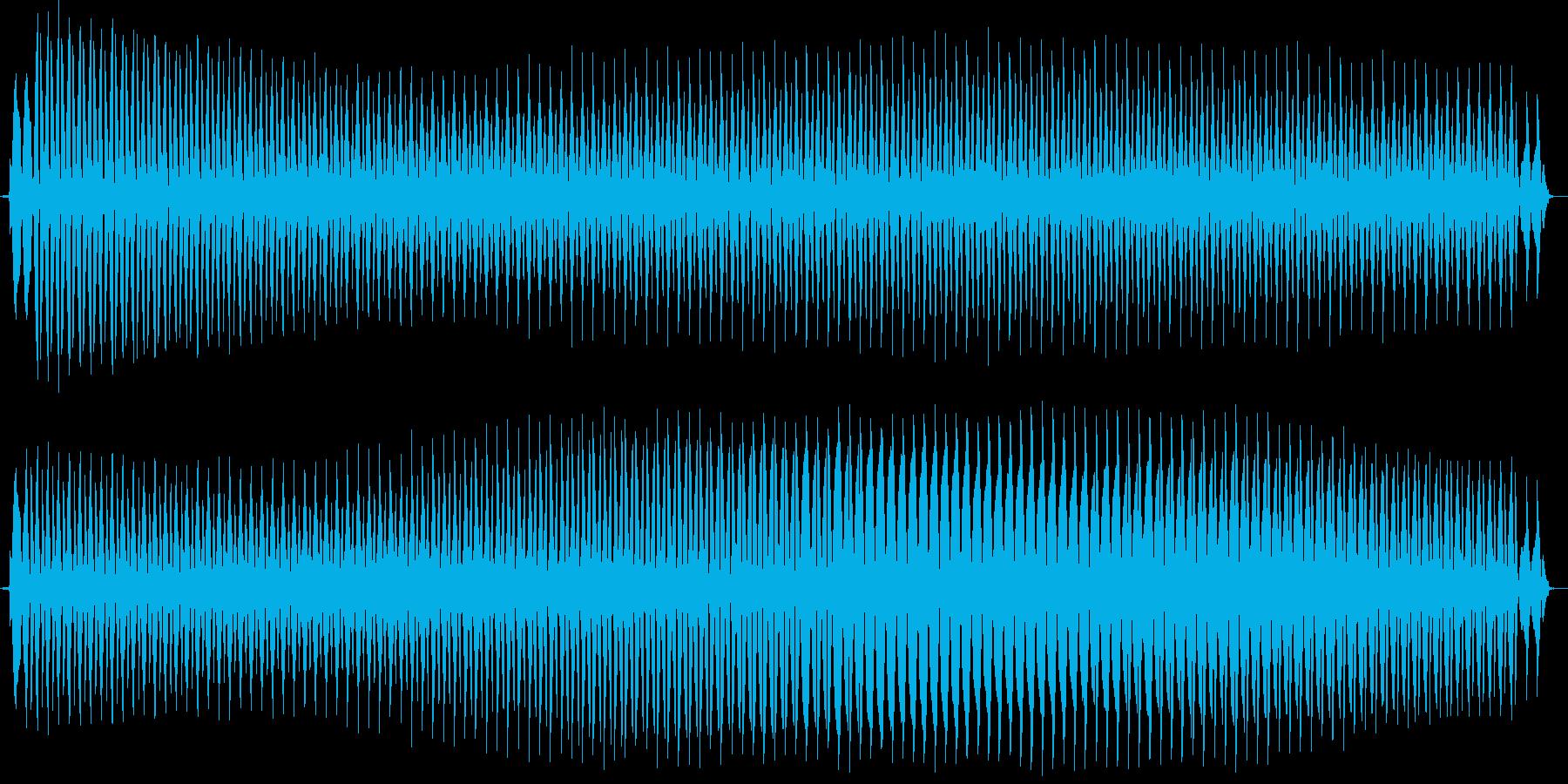 ビュォー。クイズ不正解・ブザー音の再生済みの波形