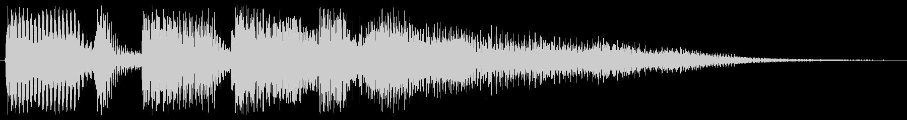 アコギの穏やかな音ですの未再生の波形