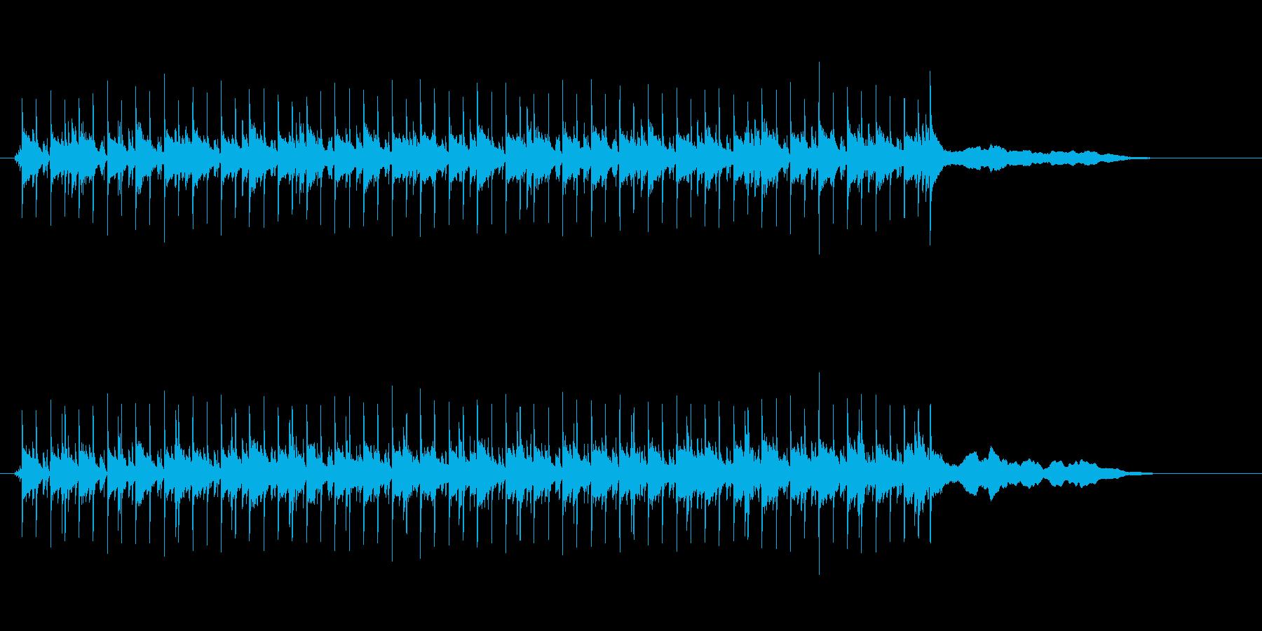 クールでちょっと怪しいエレクトロニカの再生済みの波形