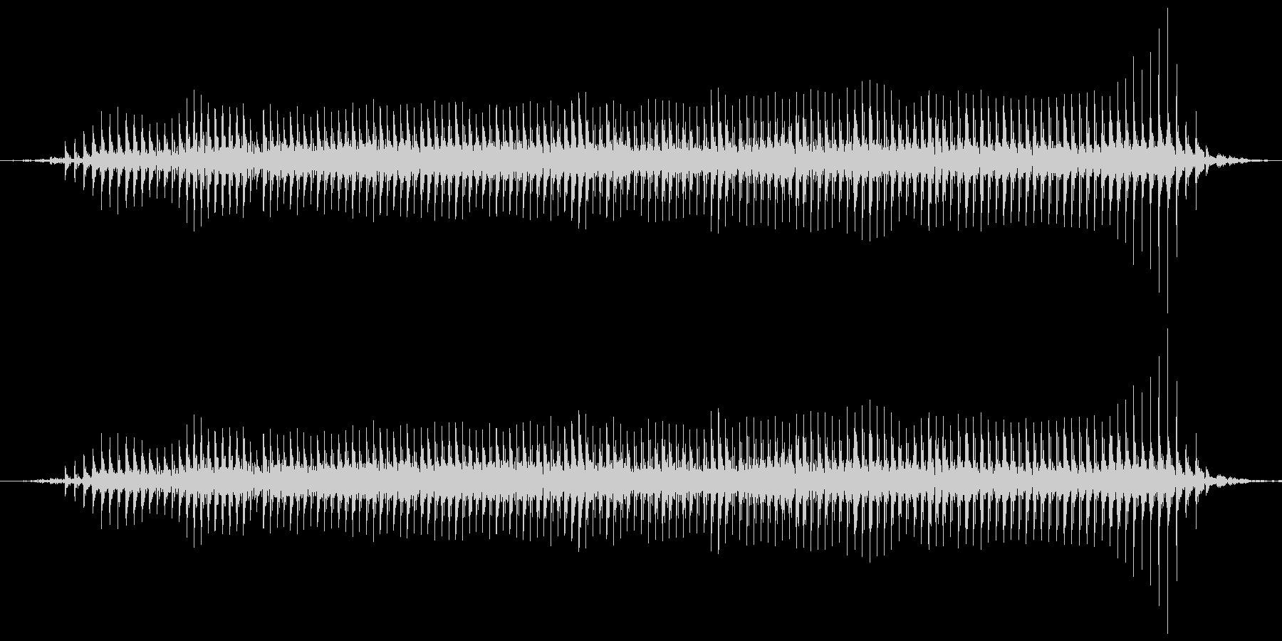 ヒツジの鳴き声(メェー)の未再生の波形