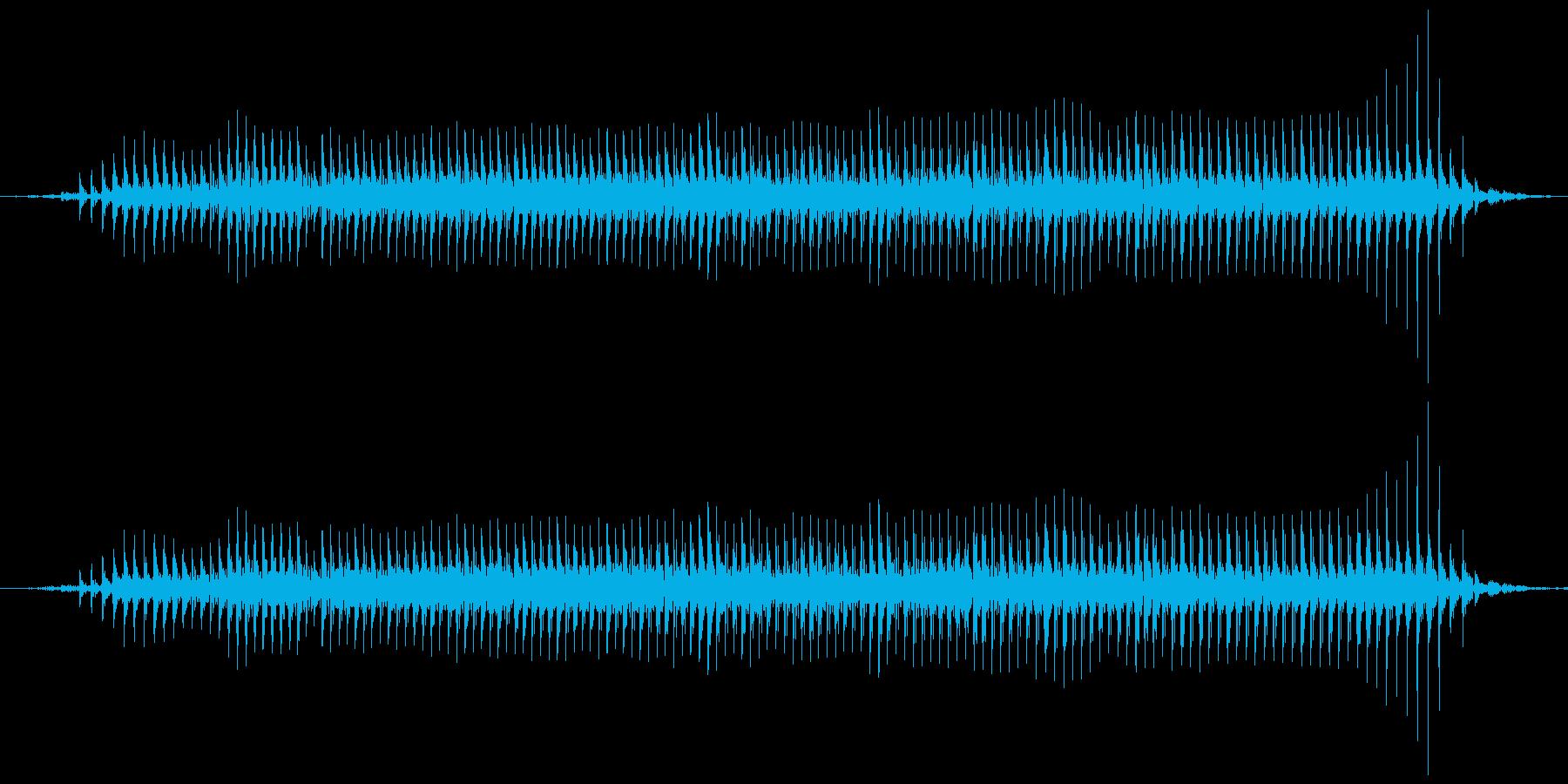 ヒツジの鳴き声(メェー)の再生済みの波形