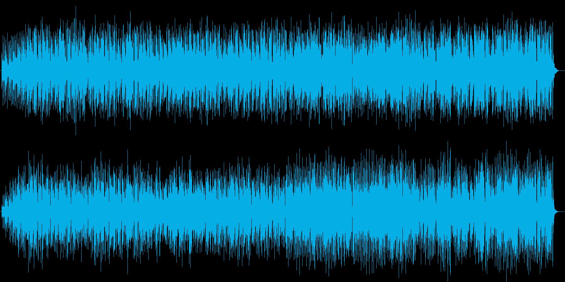 軽快なアコーディオンワルツの再生済みの波形