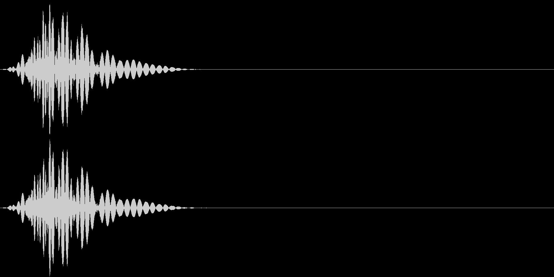 KAKUGE 格闘ゲーム戦闘音 62の未再生の波形