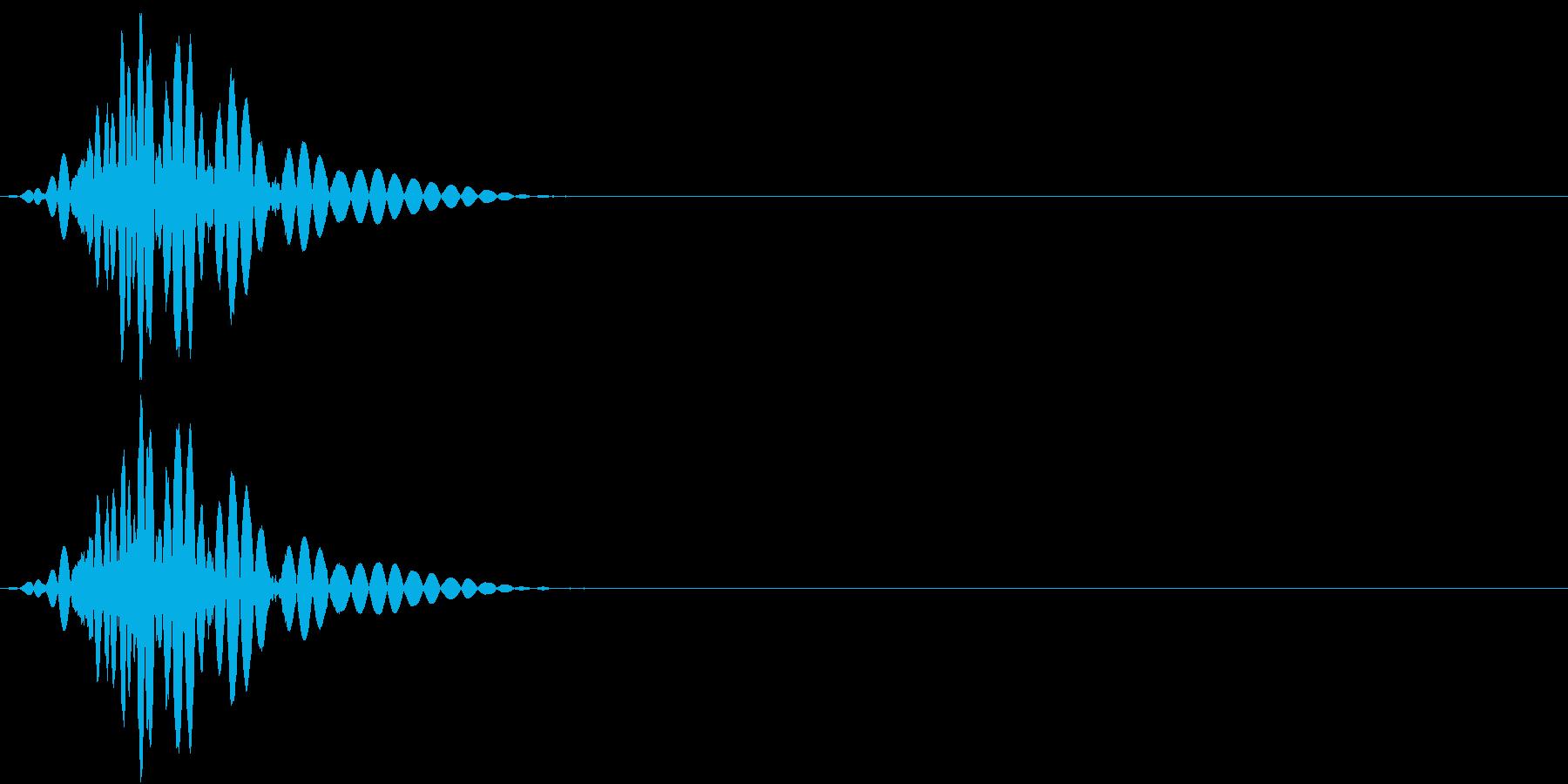 KAKUGE 格闘ゲーム戦闘音 62の再生済みの波形