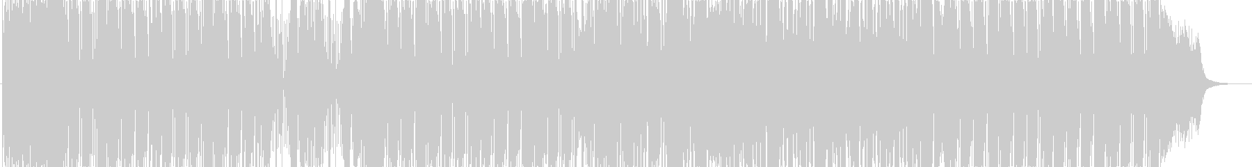 都会的でロボット風のDubstepEDMの未再生の波形