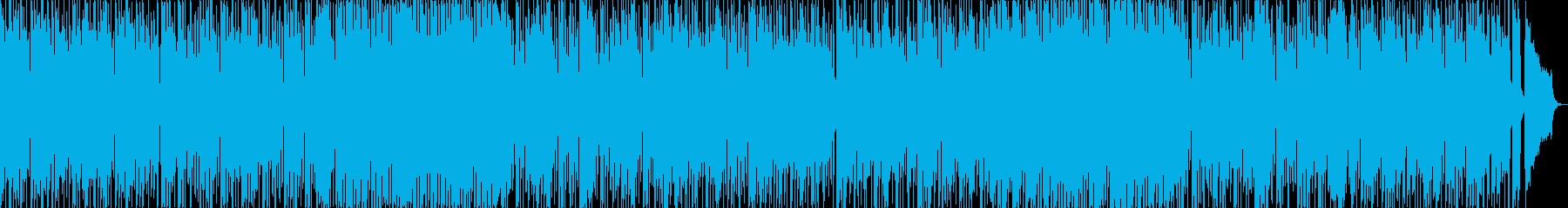 ゆっくり16ビート+美しいアコギ・ビオラの再生済みの波形