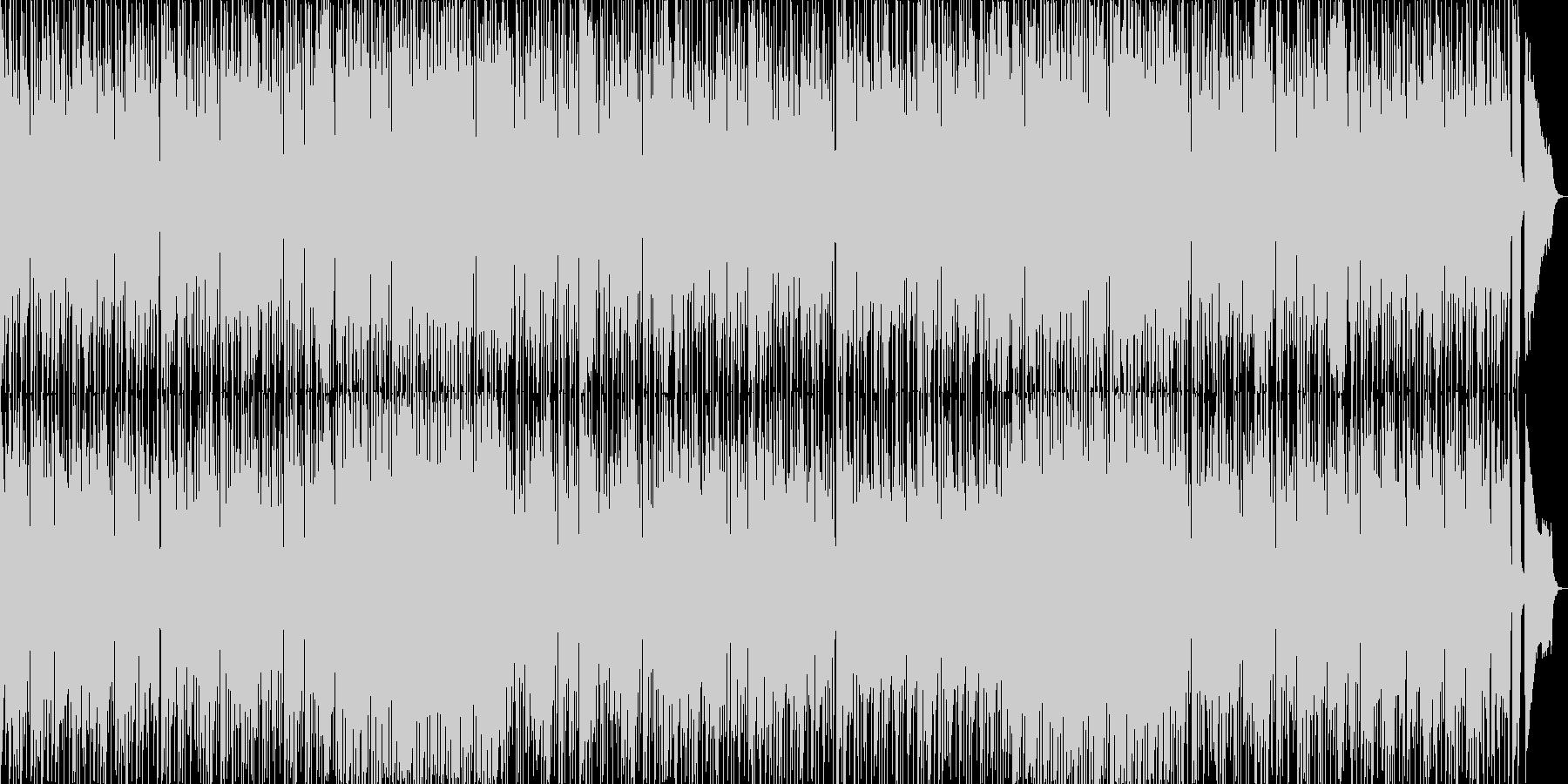 ゆっくり16ビート+美しいアコギ・ビオラの未再生の波形