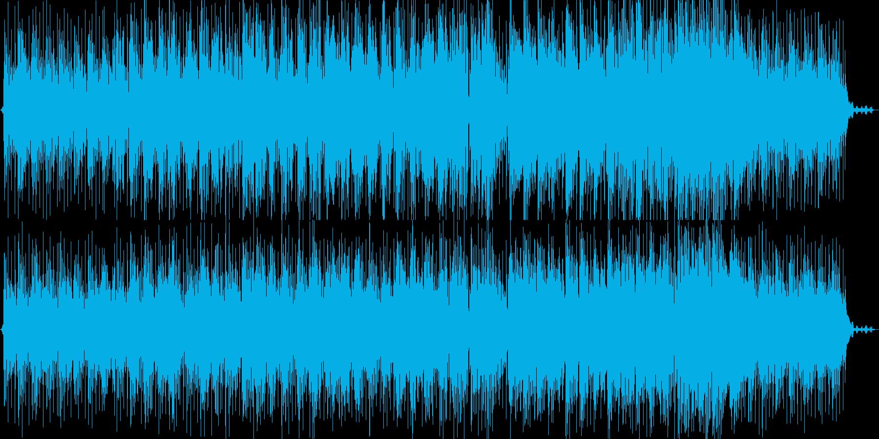 哀愁/幻想的/バラードの再生済みの波形