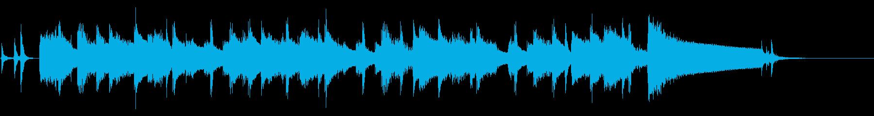 サックスがかっこいいジャズの再生済みの波形