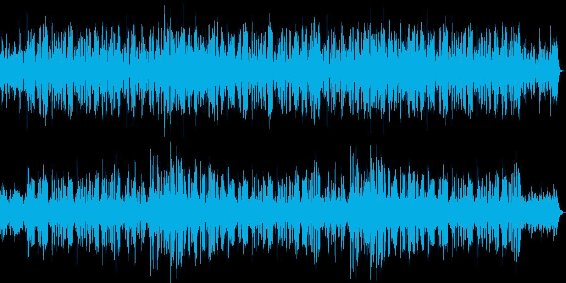 かわいいパズルゲーム用BGMの再生済みの波形