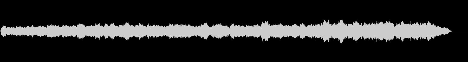 パイプオルガンの曲、クリスマスのイメージの未再生の波形