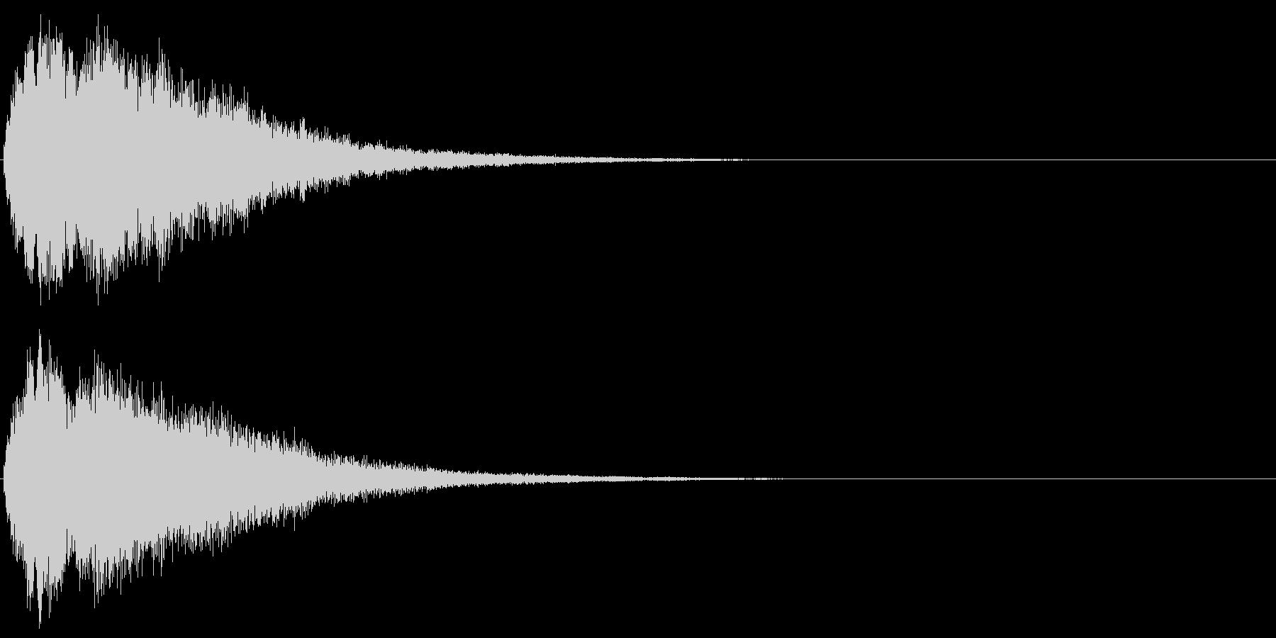 キラキラ☆ピキーン(星の輝き 魔法)06の未再生の波形