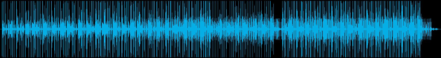 密談やラウンジ散策にぴったりビートの再生済みの波形