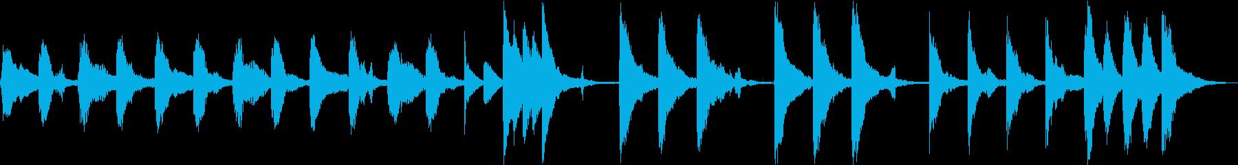 おとぼけ考え中&作業中ジングル。ループ可の再生済みの波形