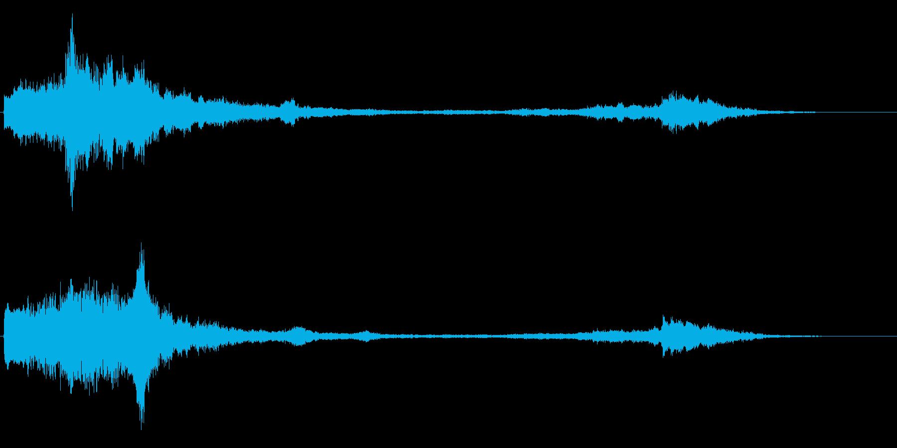 ミステリアス 不思議な音 怪しい音 奇妙の再生済みの波形