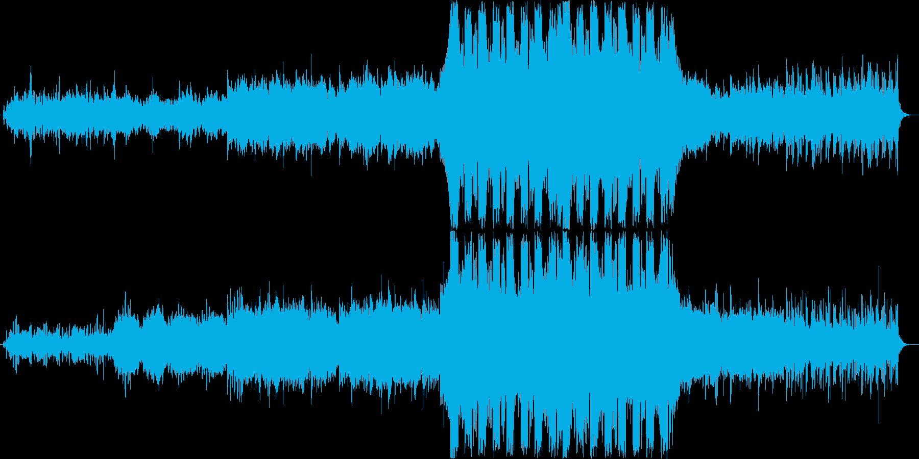 壮大で果敢なデジタルオーケストラの再生済みの波形