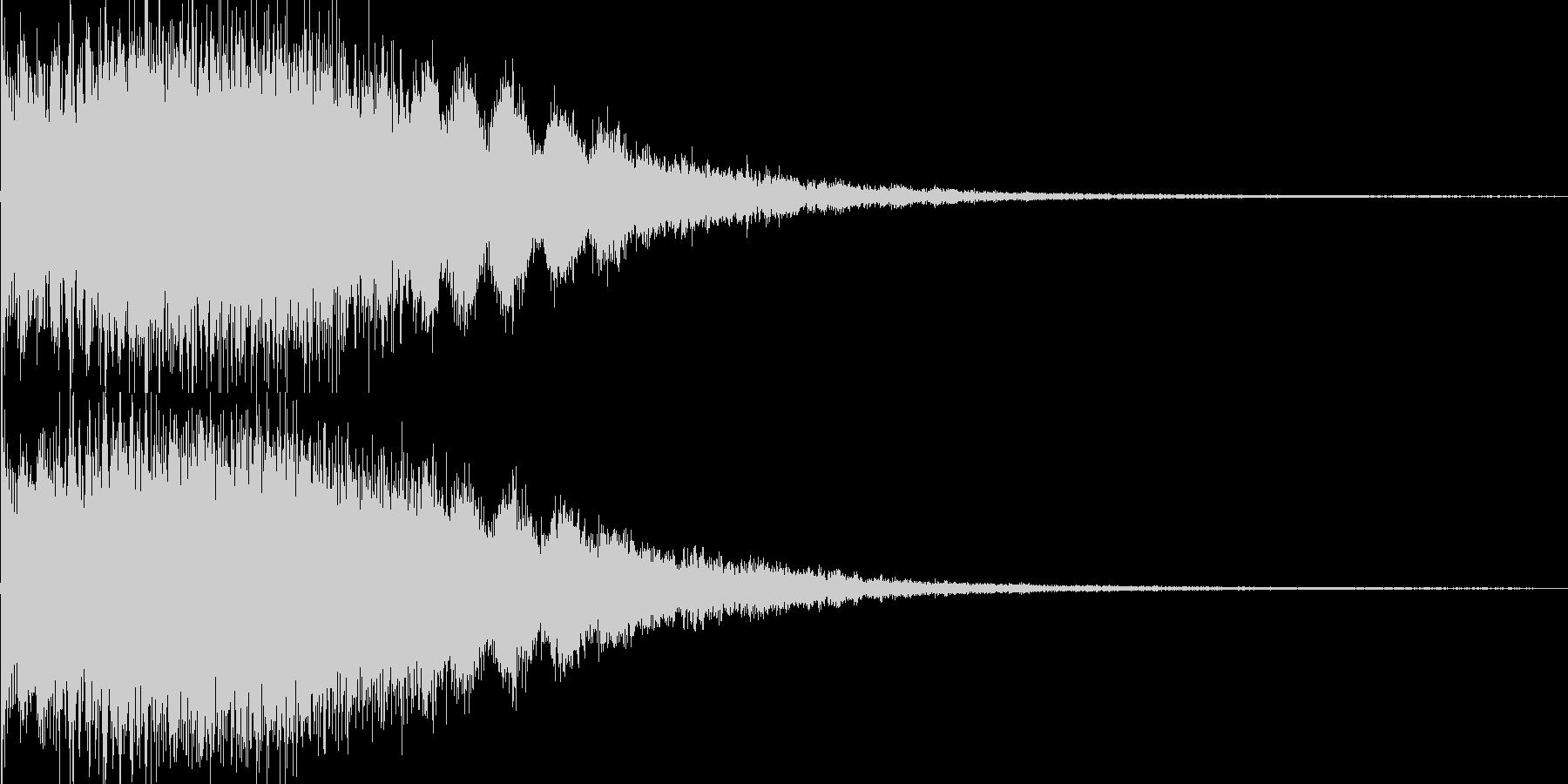 キララーン ゲームSE 育成レベルアップの未再生の波形