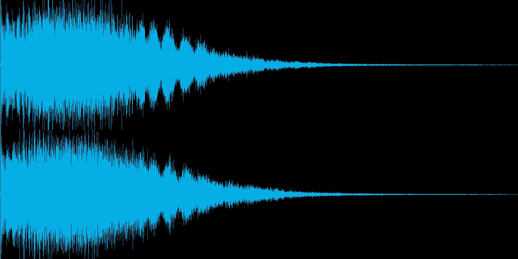 キララーン ゲームSE 育成レベルアップの再生済みの波形