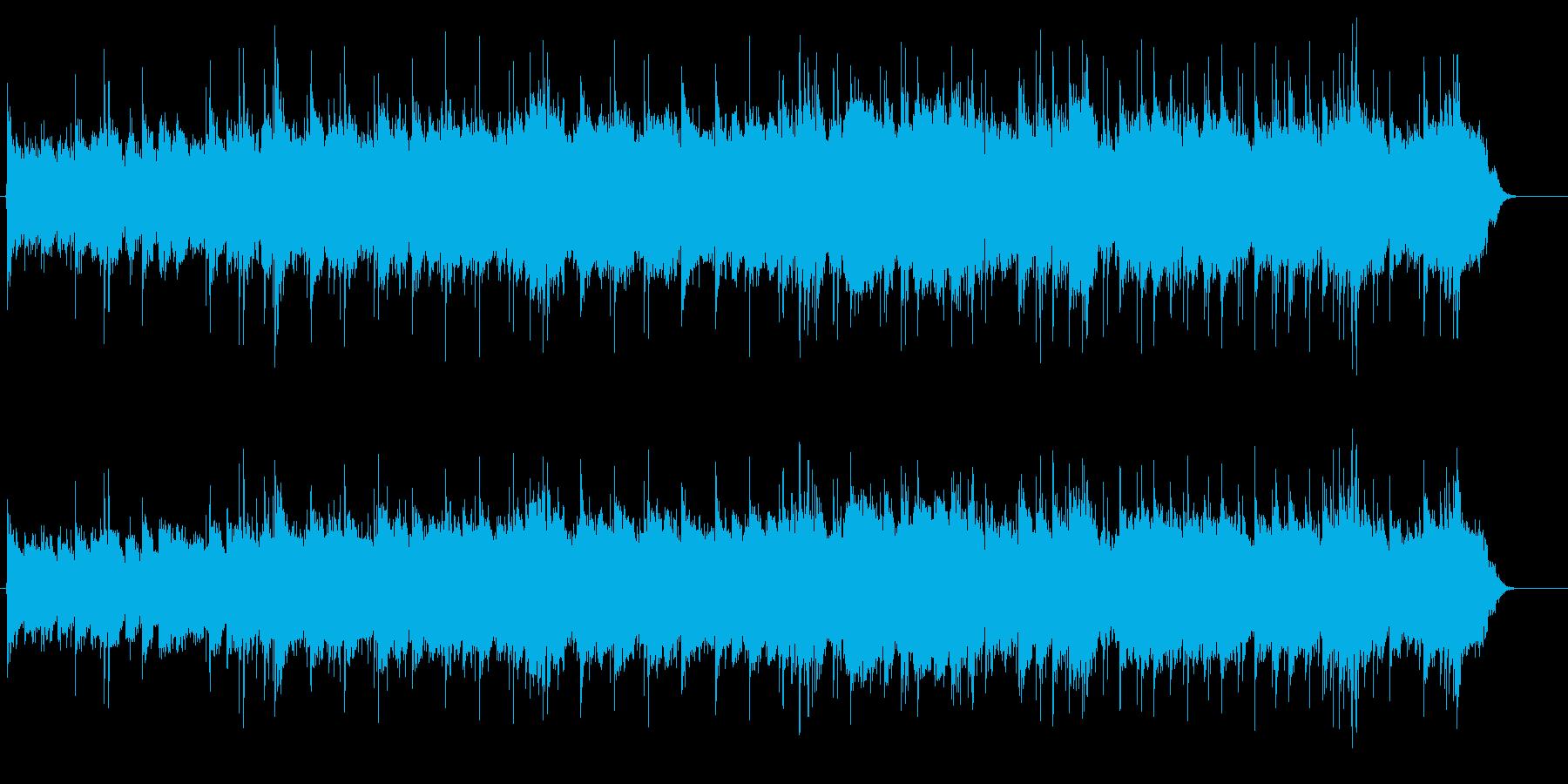 郷愁溢れるギターインストのロッカバラードの再生済みの波形