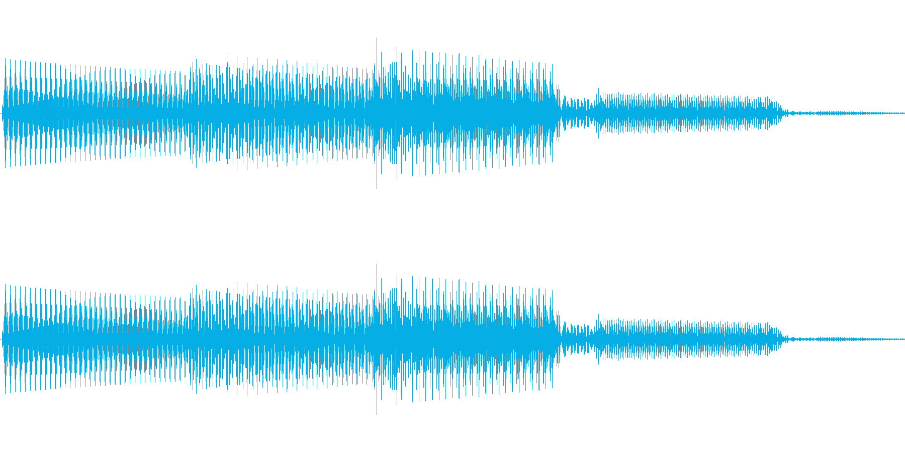 ボタン決定音システム選択タッチ登録B01の再生済みの波形