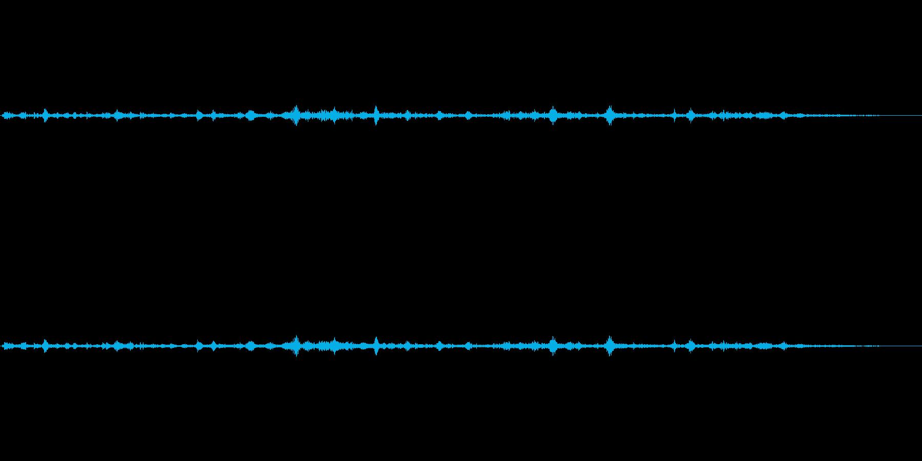 (震える声)の再生済みの波形