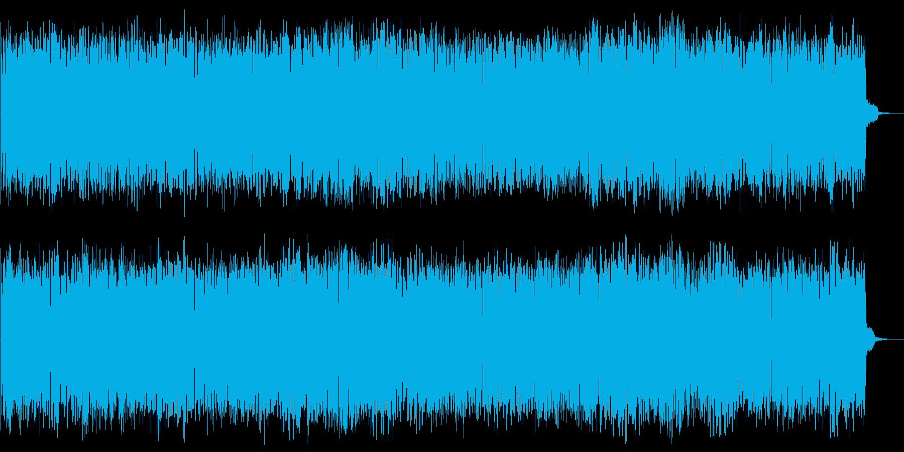 コンピューターのピコピコ ピポ ノイズの再生済みの波形