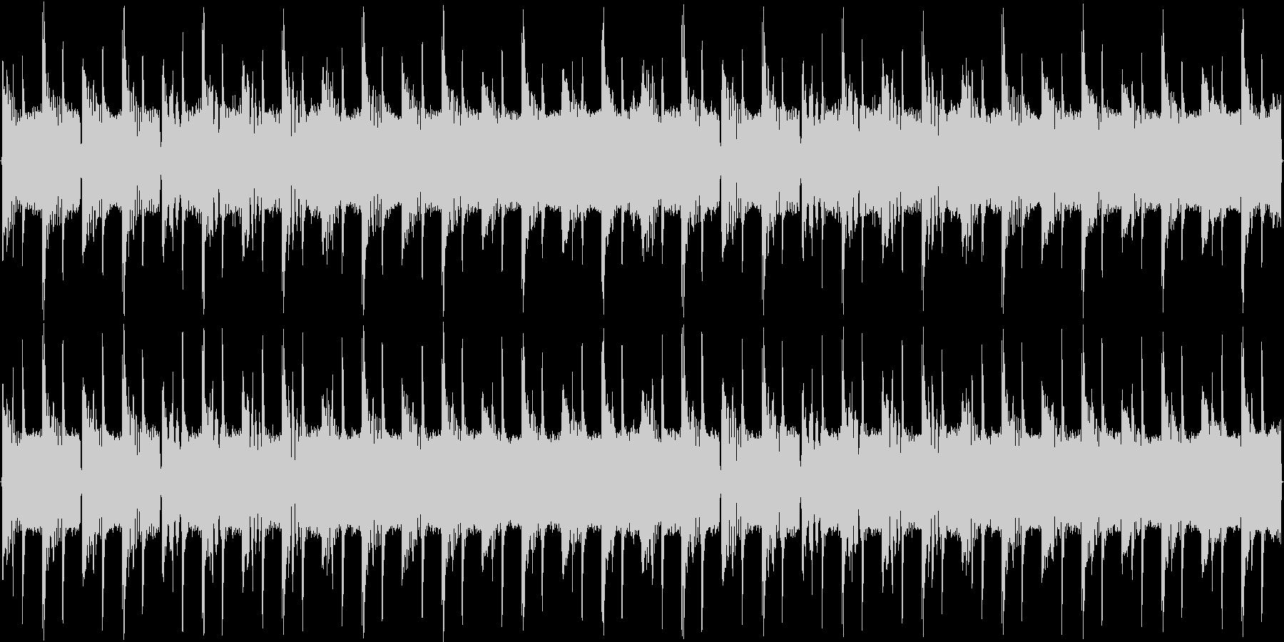 ベーシックな短調EDMの未再生の波形