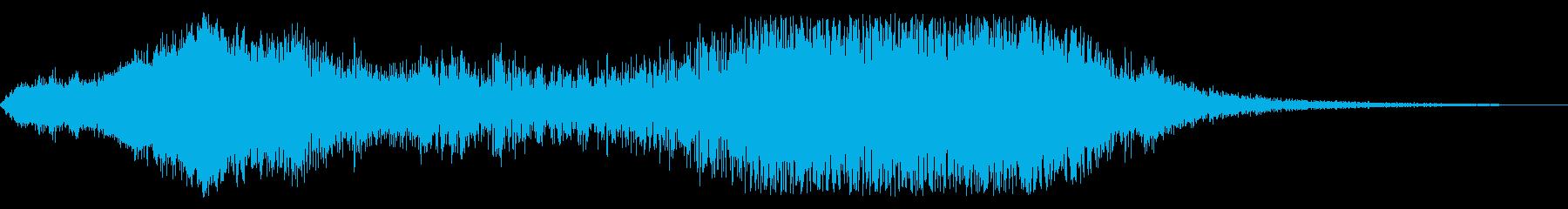 F1などのレース、エンジン音に最適!37の再生済みの波形