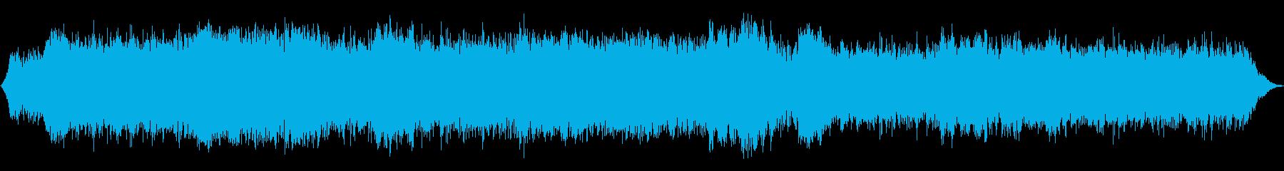 ホラーな不協和音ピアノBGMの再生済みの波形