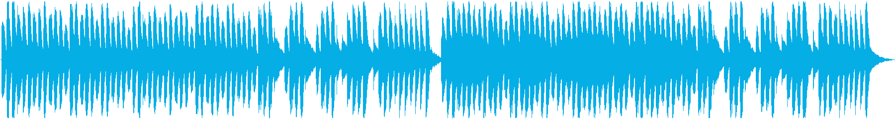 RPG風の不思議な雰囲気のBGMの再生済みの波形