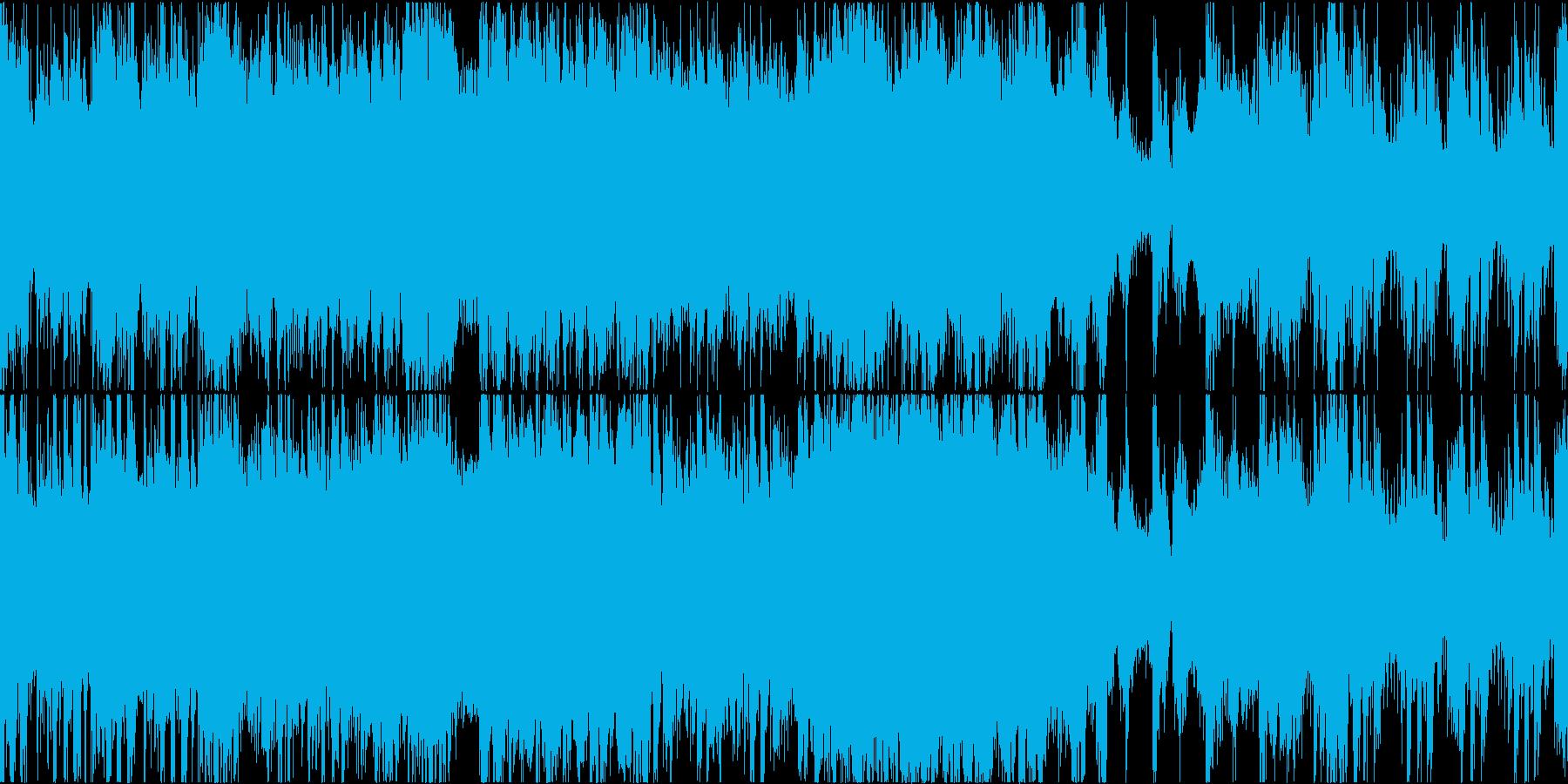 【ループ】戦闘曲/迫力・巨大・ボス・緊迫の再生済みの波形