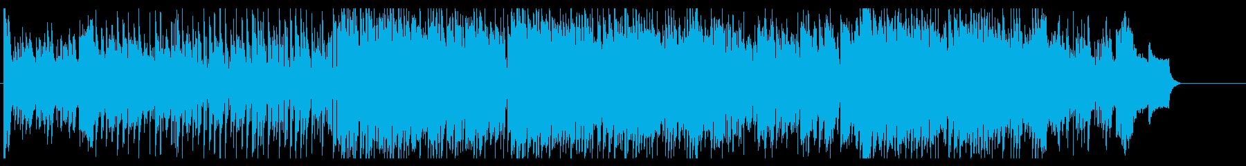 都会的でおしゃれなディスコ風テクノの再生済みの波形