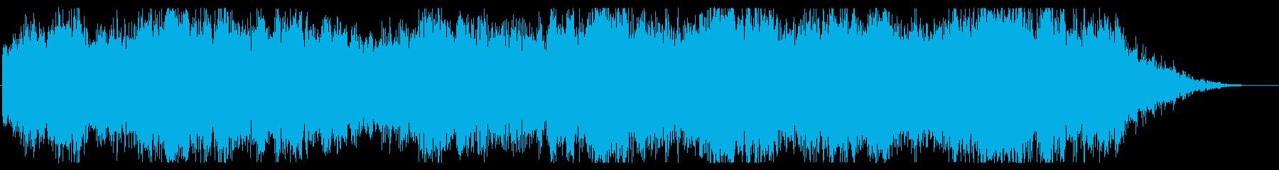 ハロウィン系 ミステリアスなジングルの再生済みの波形
