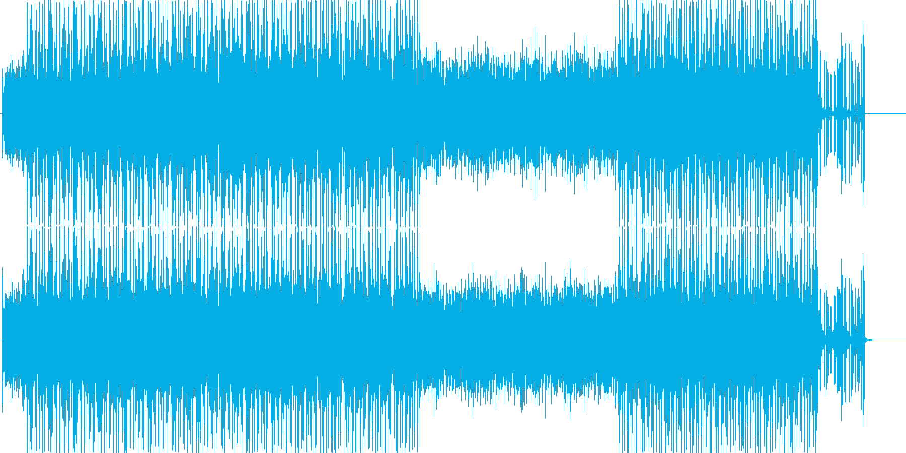 わき起こる探究心的なテクノポップスの再生済みの波形