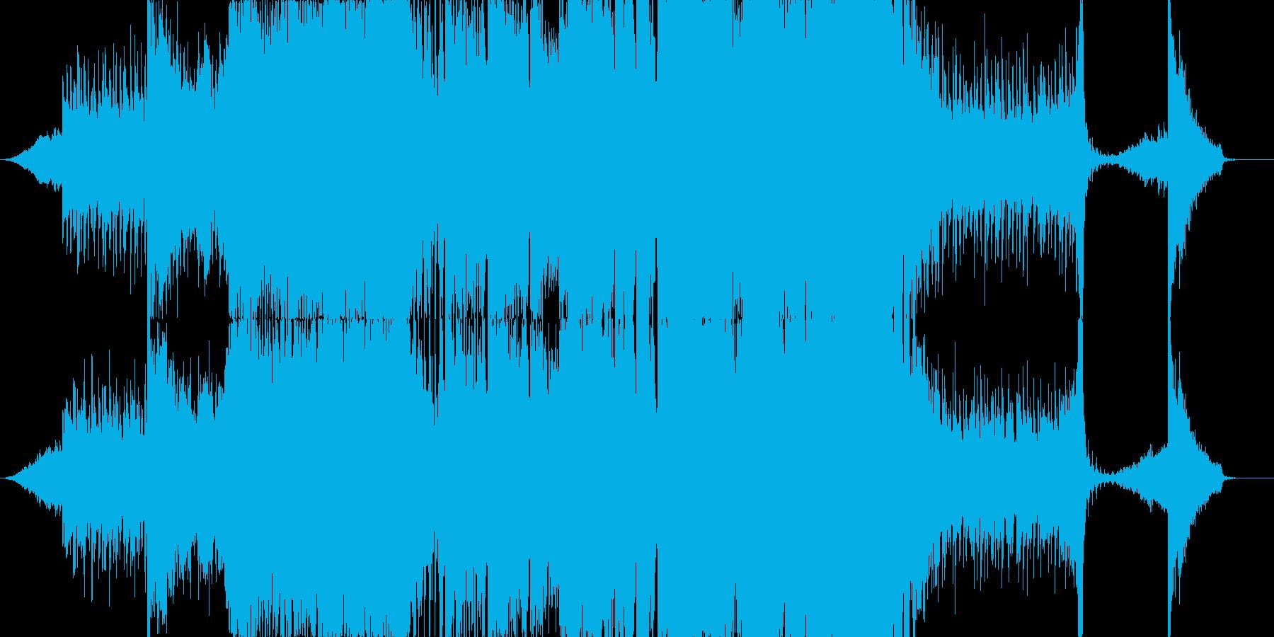 ワブルベースとシンフォニックEDMの再生済みの波形