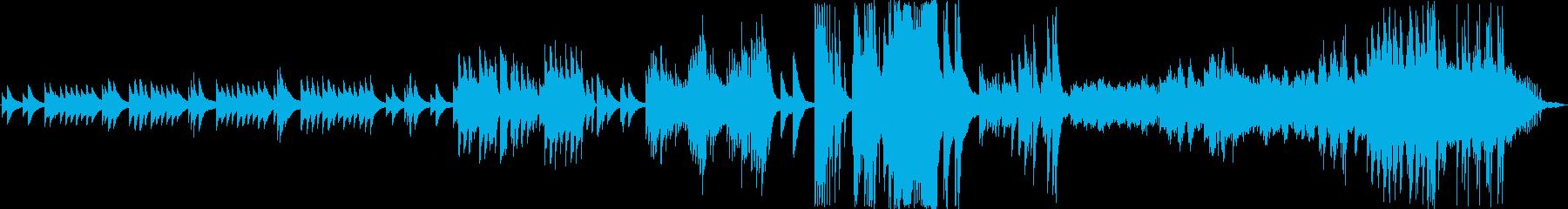 ピアノソロ 変わりゆく風の憧憬の再生済みの波形