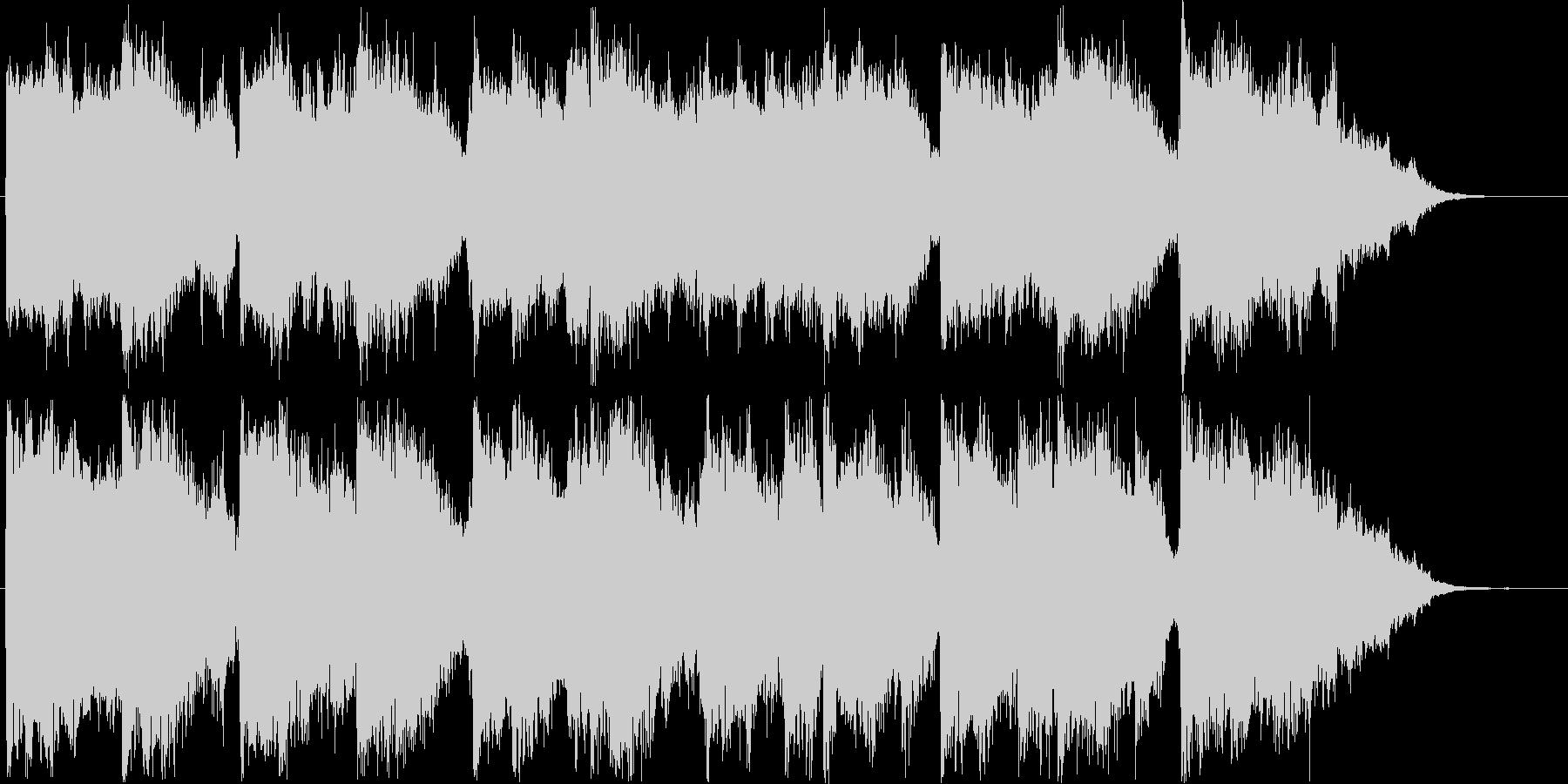 上品な印象のシンセ・オルガンサウンド短めの未再生の波形