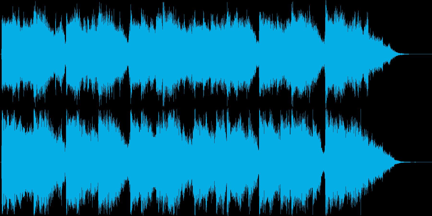 上品な印象のシンセ・オルガンサウンド短めの再生済みの波形
