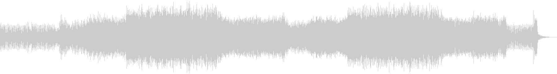 フェスをイメージしたEDMの未再生の波形